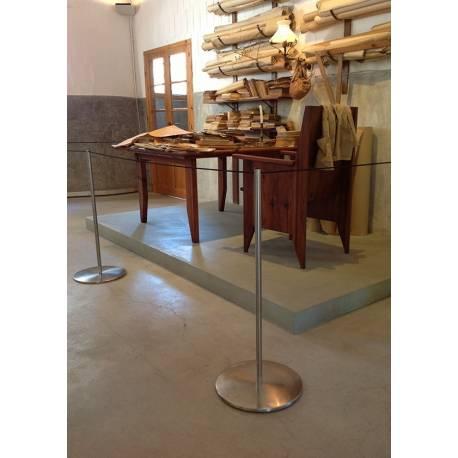 Potelet à cordon élastique 9402 - Poteaux de guidage musée