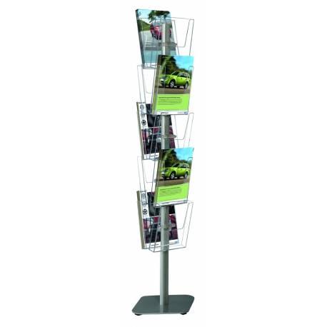 Porte brochures multifaces 4503 - Présentoirs prospectus