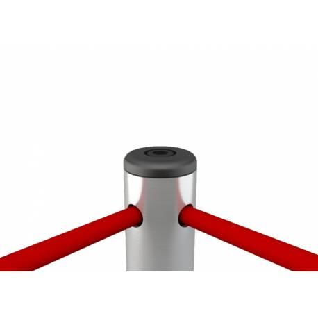 Potelet à double cordon élastique 9404 - Poteaux de guidage