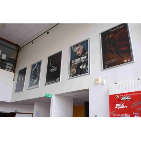 Cadre à clapets grands formats 8026 - Portes affiches cinéma