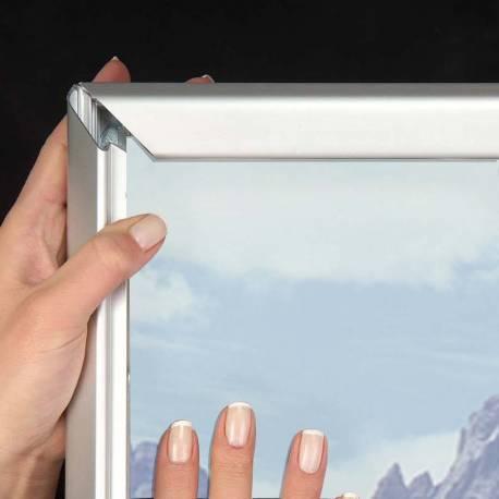 Cadre à clapets grands formats 8026 - Portes affiches intérieur