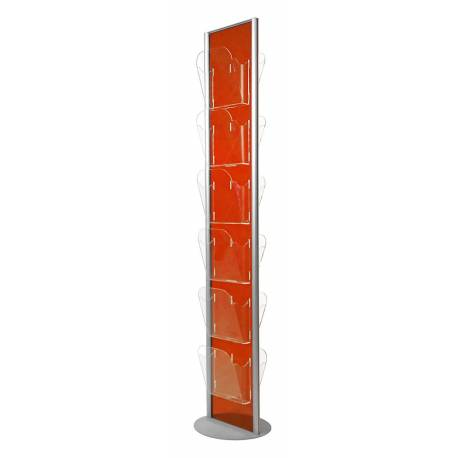 Colonne double face porte brochure 12 x A4 2042