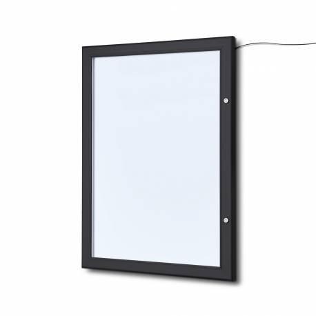 Porte menu mural noir 2 x A4 4804