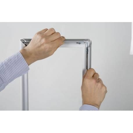 Cadre à clapets pour vitrine 8040 - Portes affiches intérieur