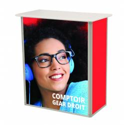 Comptoir promotionnel 6511