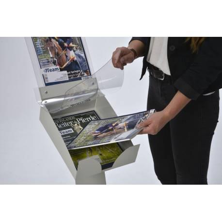 Porte catalogue sur roulettes 2006 - Présentoirs prospectus
