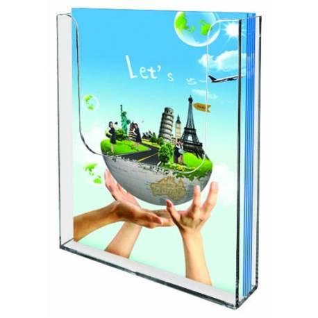 Boite porte brochures murale 7011 - Porte brochures et documents