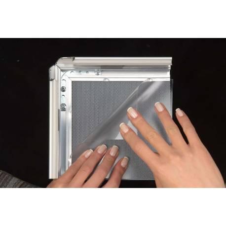 Cadre à clapets standard 8020 - Portes affiches intérieur
