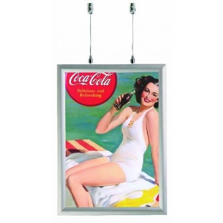 Cadre double face 8042 - Portes affiches intérieur