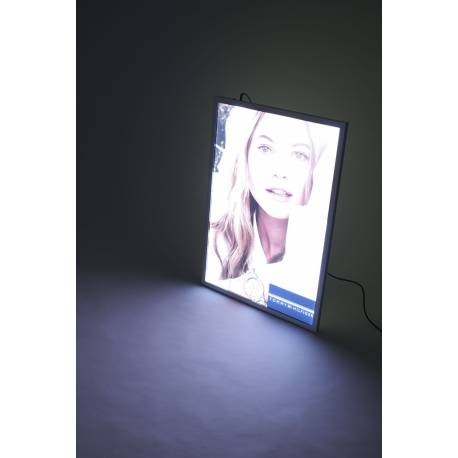 Cadre à clapets LED 8060 - Portes affiches intérieur