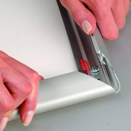 Cadre clic clac étanche 8050 - Affichage extérieur