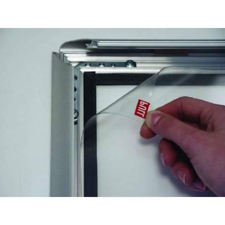 Cadre clic clac étanche sécurisé 8058 - Affichage extérieur