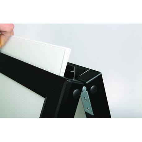 Chevalet à insertion 4202 - Porte messages, porte menus et