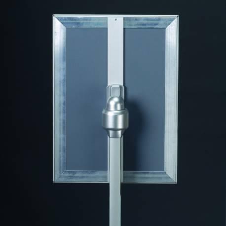 Porte visuel 4007 - Porte visuels et porte messages de sol