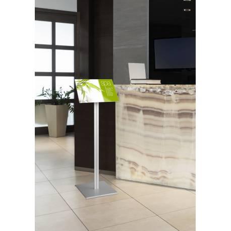Porte menu 4102 - Porte visuels et porte messages de sol